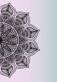 Mooi bloemenornament - stijlenidee voor tatoegering Royalty-vrije Stock Afbeeldingen