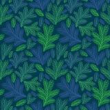 Mooi bloemenornament, Vector naadloos patroon Royalty-vrije Stock Afbeeldingen