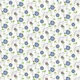 Mooi bloemenpatroon voor druk en Web Royalty-vrije Illustratie