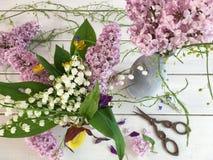 Mooi bloemstuk Royalty-vrije Stock Foto