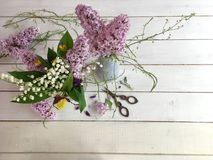 Mooi bloemstuk Stock Afbeelding