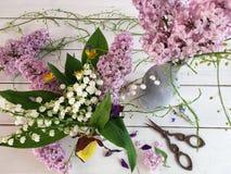 Mooi bloemstuk Royalty-vrije Stock Foto's