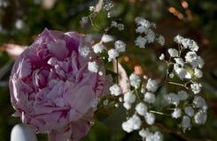 Mooi bloemstuk op een vage achtergrond royalty-vrije stock fotografie