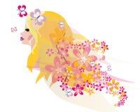 Mooi blond feeportret Royalty-vrije Stock Afbeeldingen