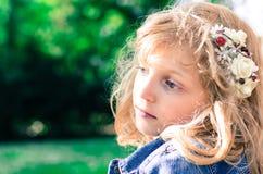 Mooi blond meisje royalty-vrije stock afbeeldingen