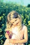 Mooi blond meisje stock foto's