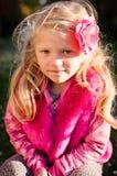 Mooi Blond Meisjesportret royalty-vrije stock afbeelding
