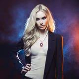 Mooi blonde Royalty-vrije Stock Fotografie