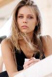 Mooi blonde meisje Royalty-vrije Stock Foto