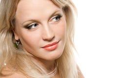 Mooi blonde meisje Stock Foto