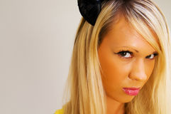 Mooi blonde meisje. Royalty-vrije Stock Foto