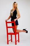 Mooi blonde meisje. Stock Fotografie