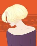 Mooi blonde meisje Royalty-vrije Stock Fotografie