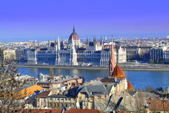 Mooi Boedapest stock foto's