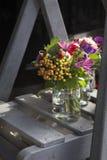 Mooi boeket van wilde bloemen royalty-vrije stock foto's