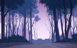 Mooi bos Stock Illustratie