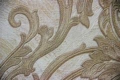 Mooi briljant gouden behang Stock Afbeelding