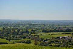 Mooi Brits platteland royalty-vrije stock afbeelding