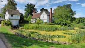 Mooi Broughton-Landgoed in Worcestershire, het Verenigd Koninkrijk Stock Fotografie