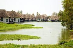Mooi bungalowhuis in Thailand, pattaya stock afbeelding