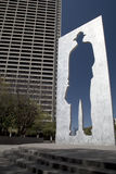 Mooi Burnett Park in Fort Worth TX Stock Fotografie