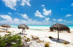 Mooi Caraïbisch strand stock foto