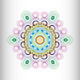 Mooi cirkelpatroon voor uw ontwerp vector illustratie