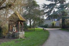 Mooi Cotswold-dorp stock fotografie