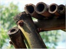 Mooi Creatief Bamboe Royalty-vrije Stock Foto's