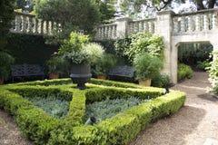 Mooi Dallas Arboretum lanscapes royalty-vrije stock foto