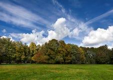 Mooi de herfstlandschap Stock Afbeeldingen