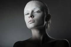 Mooi de studioportret van de meisjesmanier Royalty-vrije Stock Foto