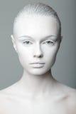 Mooi de studioportret van de meisjesmanier Stock Afbeeldingen