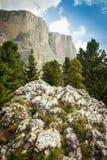 Mooi Dolomiet, Zuid-Tirol, Italië Royalty-vrije Stock Foto's