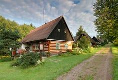 Mooi dorp Stock Foto's