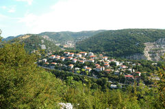 Mooi dorp in Kroatië dichtbij Rijeka Royalty-vrije Stock Fotografie