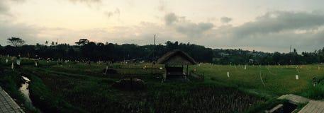 Mooi dorp met mooie mening Royalty-vrije Stock Foto's