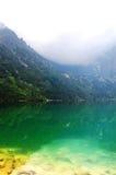 Mooi duidelijk water in een bergmeer Royalty-vrije Stock Foto