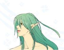 Mooi elf royalty-vrije illustratie