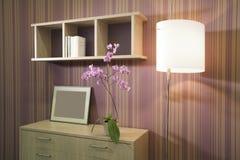 Mooi en modern bureau binnenlands ontwerp. Stock Fotografie