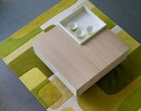 Mooi en modern woonkamer binnenlands ontwerp. Royalty-vrije Stock Foto's