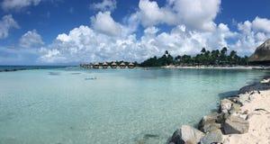 Mooi en Rustig Caraïbisch Eiland royalty-vrije stock foto