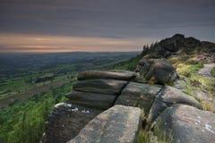 Mooi Engels Landschap Stock Foto