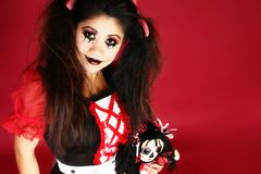 Mooi Filipijns Doll Royalty-vrije Stock Afbeelding