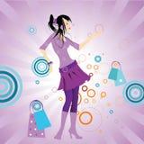 Mooi funky meisje Royalty-vrije Stock Fotografie