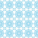 Mooi gedetailleerd kantpatroon met sneeuwvlokken Stock Afbeelding