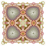 Mooi gedetailleerd sierpatroon Royalty-vrije Stock Afbeelding