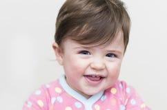 Mooi gelukkig meisje Stock Foto