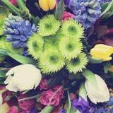 Mooi gevoelig boeket van bloemen Royalty-vrije Stock Afbeeldingen