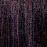 Mooi glans zwarte haarachtergrond en textuur Royalty-vrije Stock Foto's